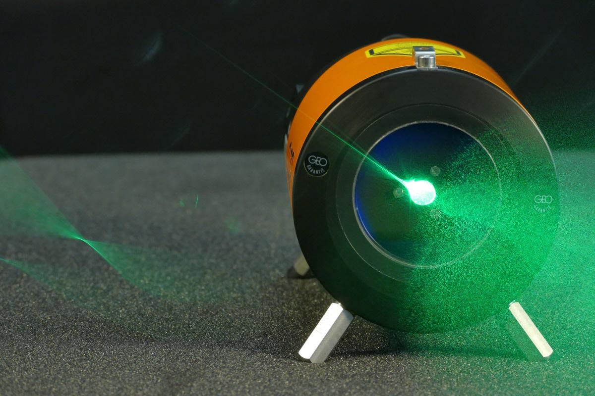 Kanalbau-Laser - KL-90L - grün - grüner Kanalbaulaser - Kanalbaulaser