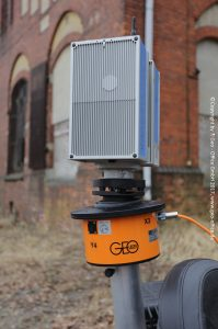 automatic levelling 3D-Scanner, automatic tripod, automatic tribach